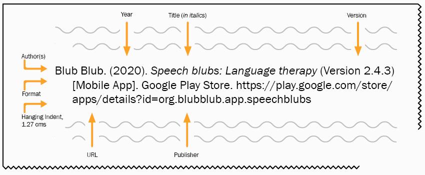 Blub Blub. (2020). Speech blubs: Language therapy (Version 2.4.3) [Mobile App]. Google Play Store. https://play.google.com/store/apps/details?id=org.blubblub.app.speechblubs