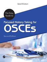 Book cover for: The easy guide to focused history taking for OSCEs