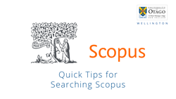 Quick Tips for Searching Scopus