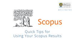Quick Tips for Using Your Scopus Results