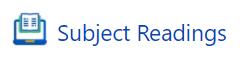 Subject Readings icon