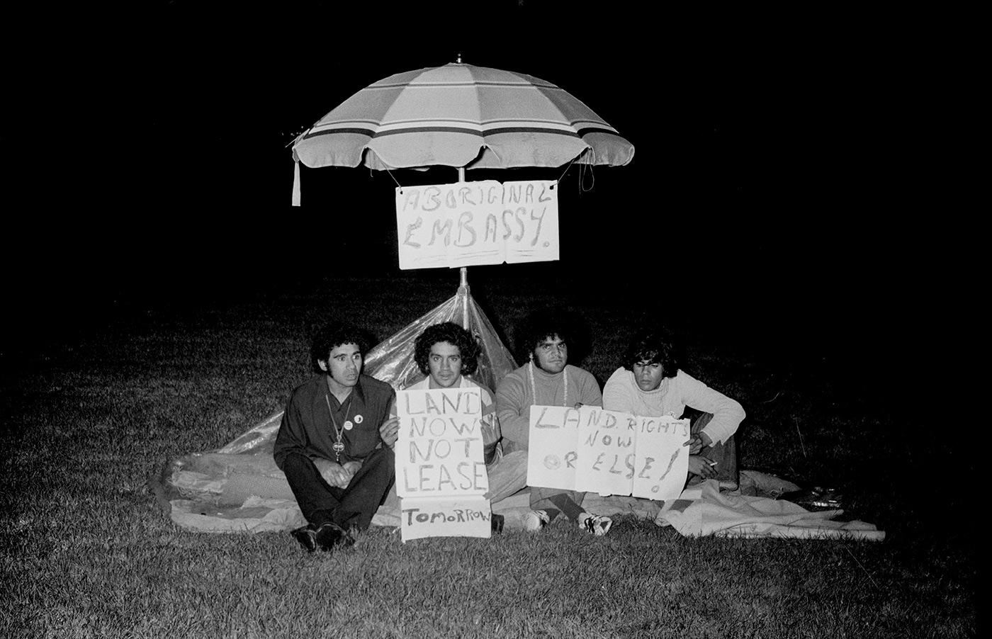 1972: Aboriginal Tent Embassy (National Museum of Australia, n.d.)