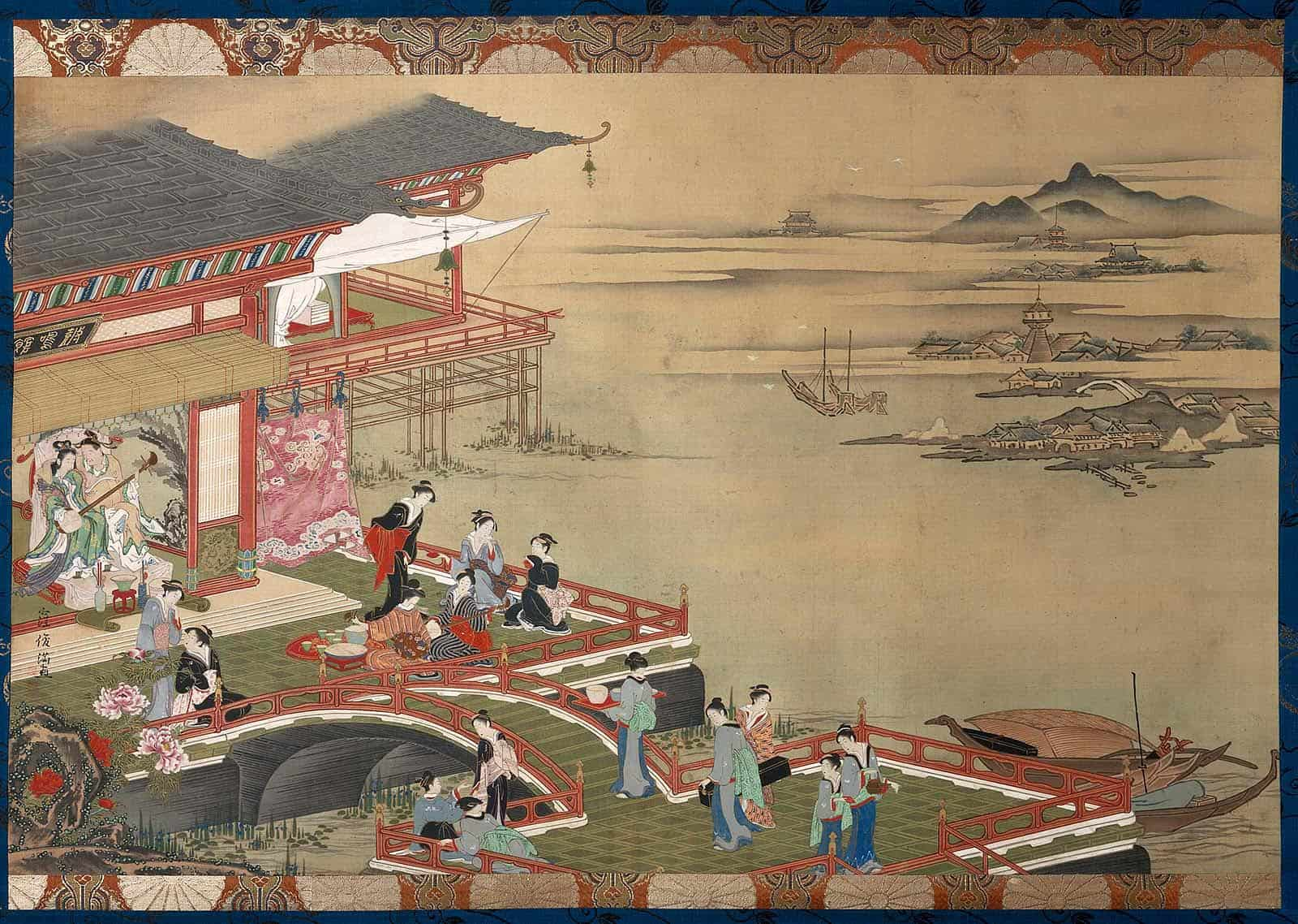 Japanese painting (Museum of Fine Arts Boston, n.d.)