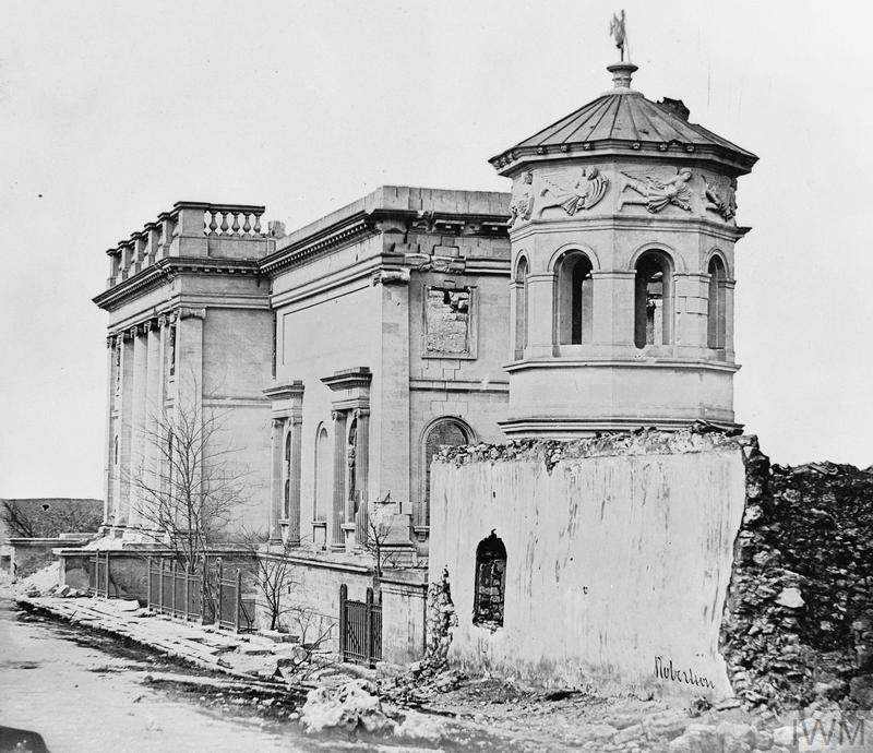 Ruins of a Library. Crimean War 1854-56