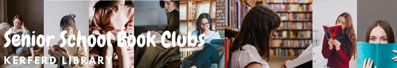 Kerferd Library Senior School Book Clubs Banner