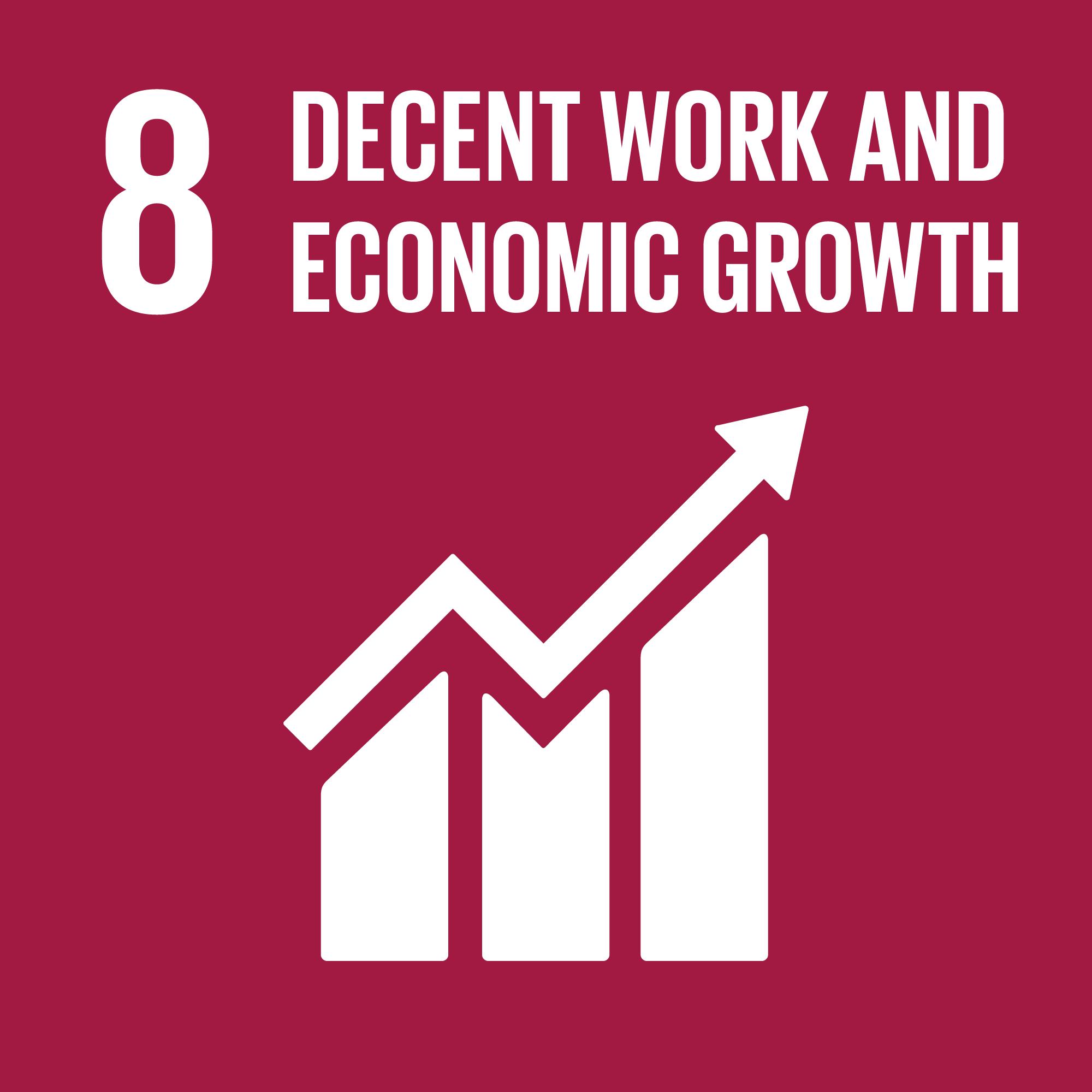 Sustainable Development Goal 8 | Decent work & economic growth