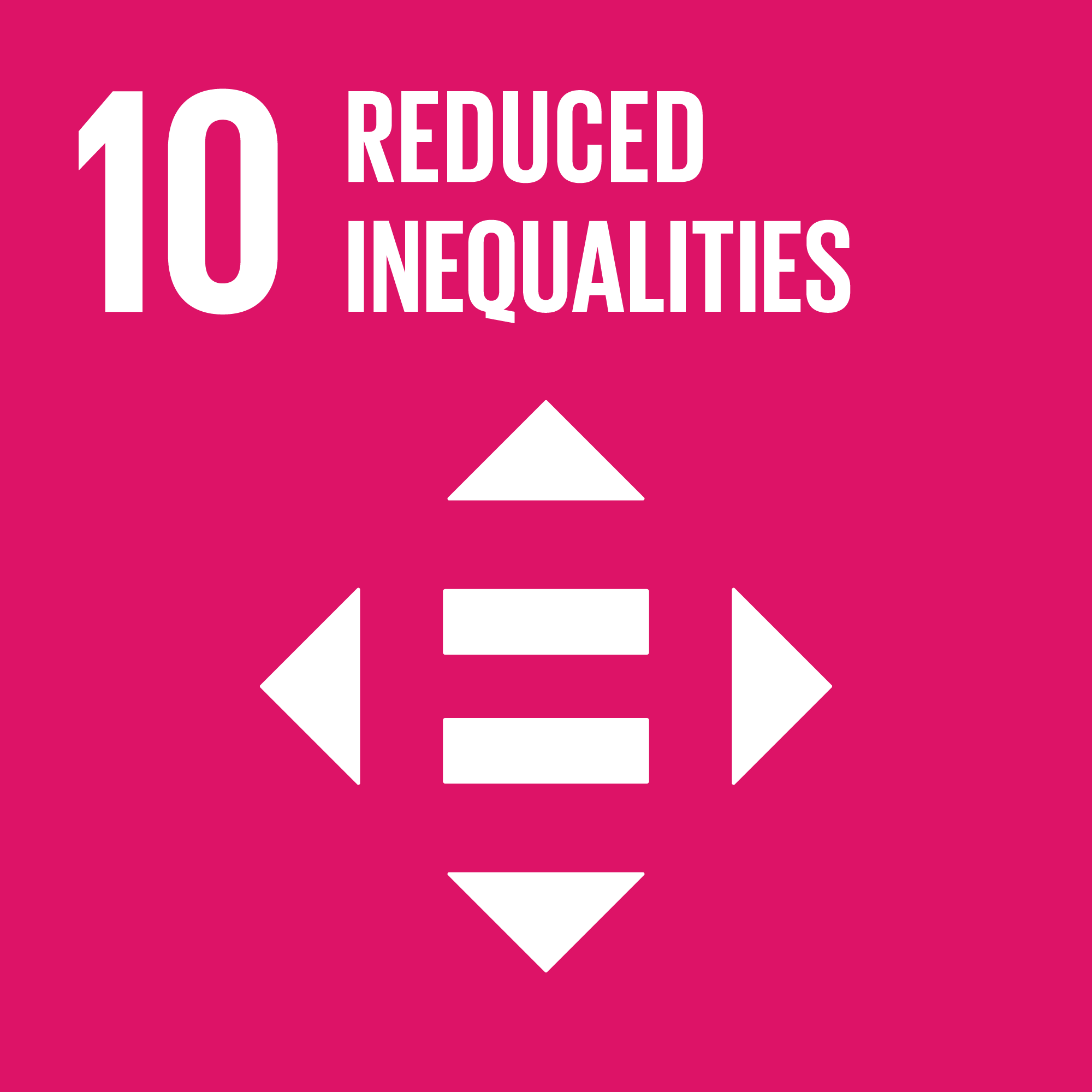 Sustainable Development Goal 10: Reduced inequality