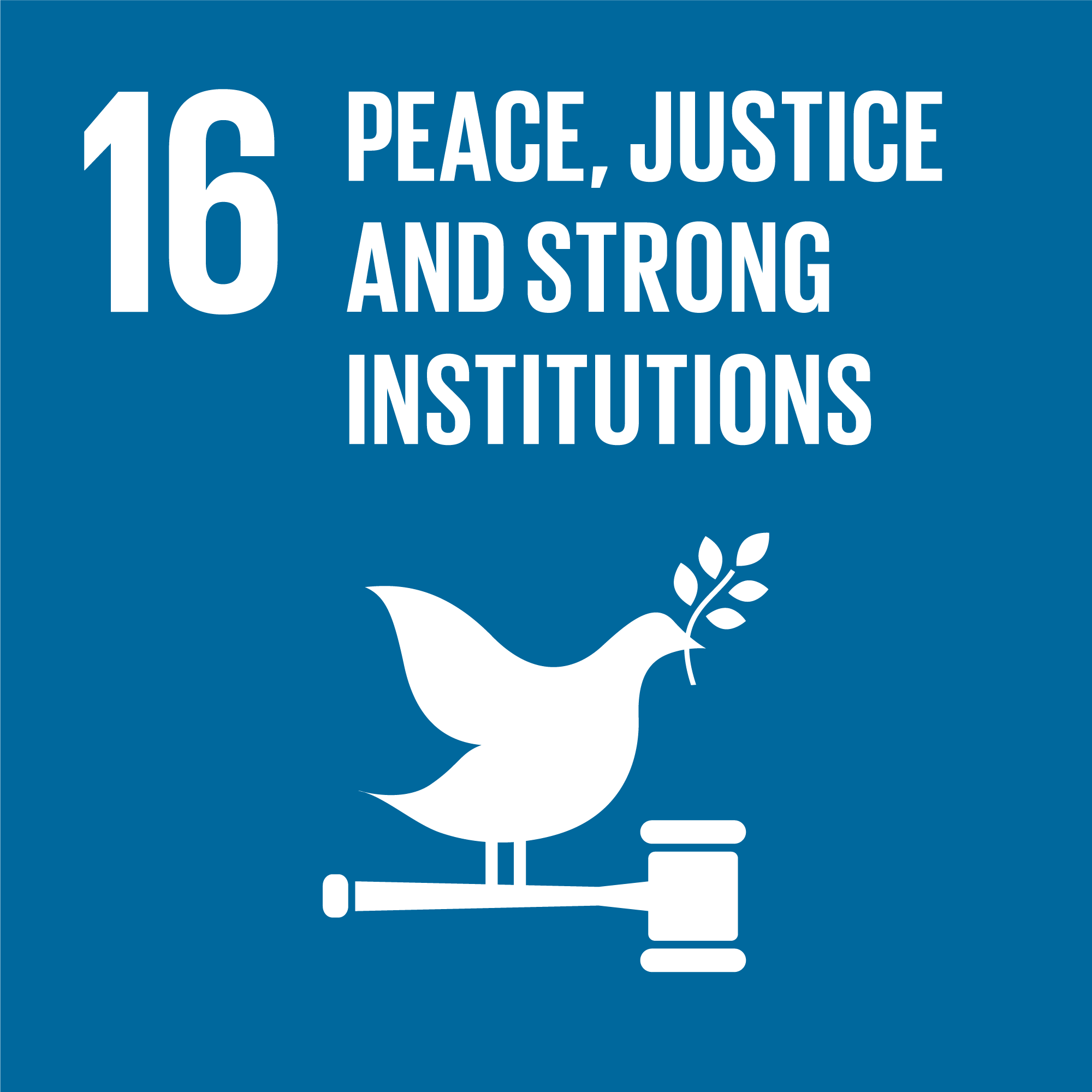 Sustainable Development Goal 16 | Peace & justice