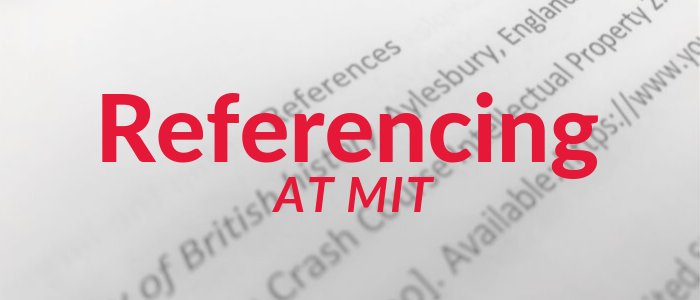 Click to access MIT's referencing guides