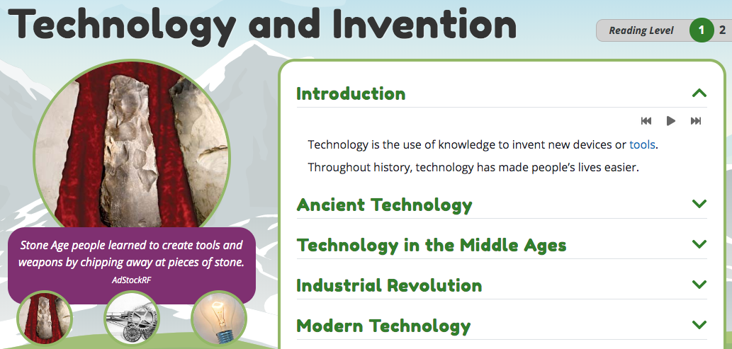 Technology & invention