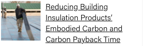 Reducing Insulation Products