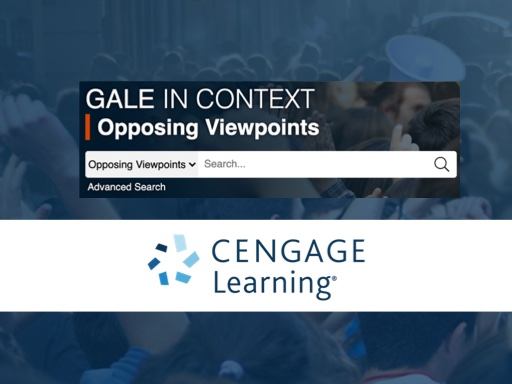 Cengage In Context Opposing Viewpoints