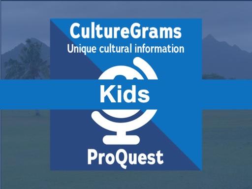 Culture Grams Kids
