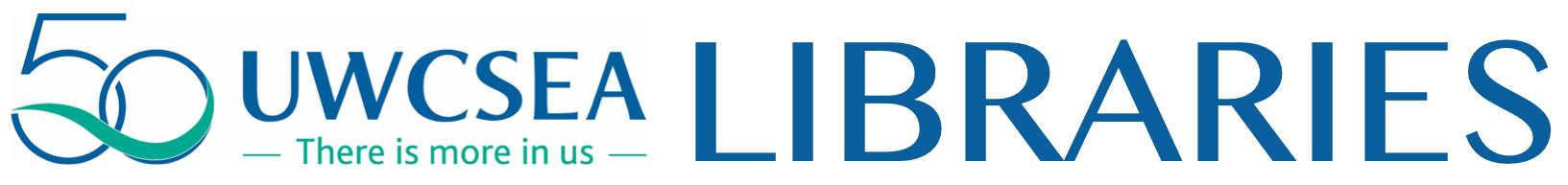 UWCSEA Libraries Logo