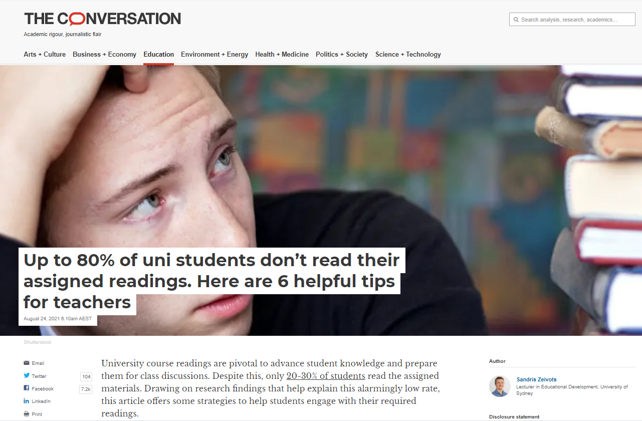 The Conversation Article